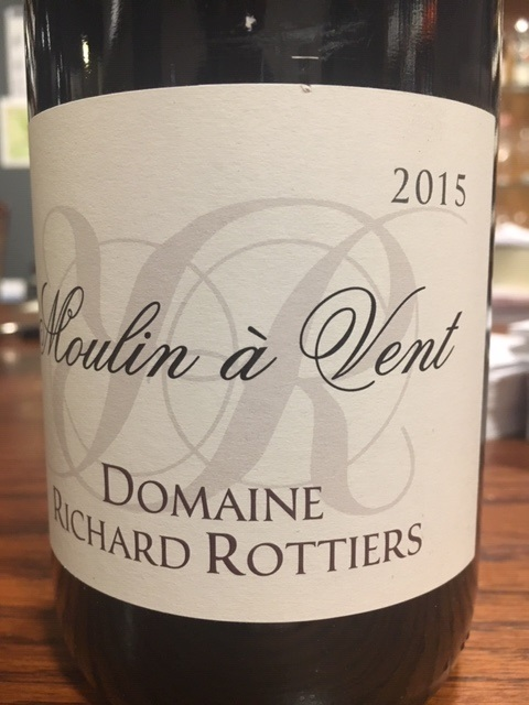 Moulin a Vent 5=6 Tradition Richard Rottiers Wine Advocate 92 punten Directe Import