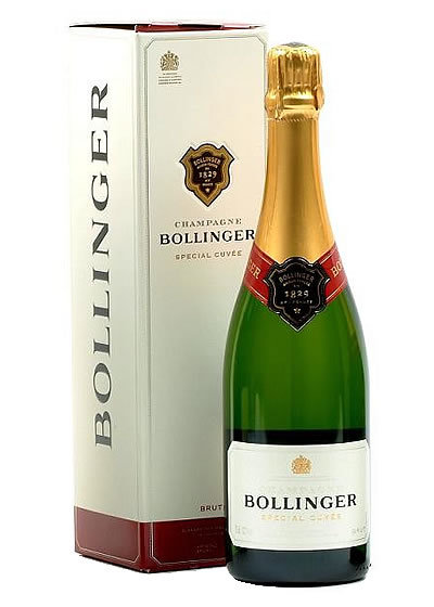 Bollinger Special Cuvee Brut James Bond Favorite